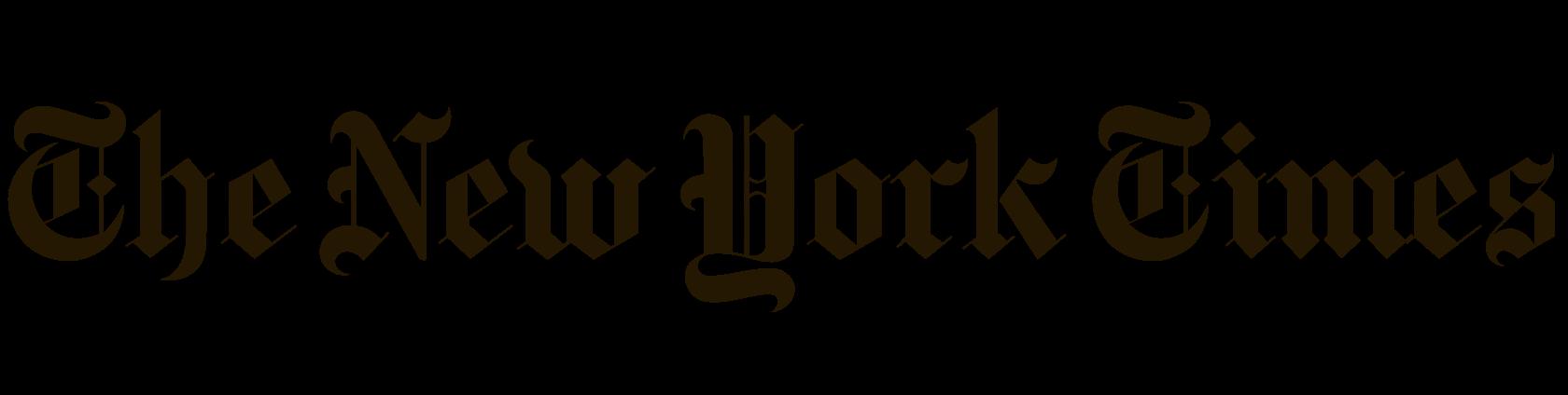 NYT Logo Clear